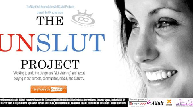 Film Screening in London: The Unslut Project