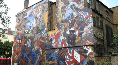 Cable Street Mural