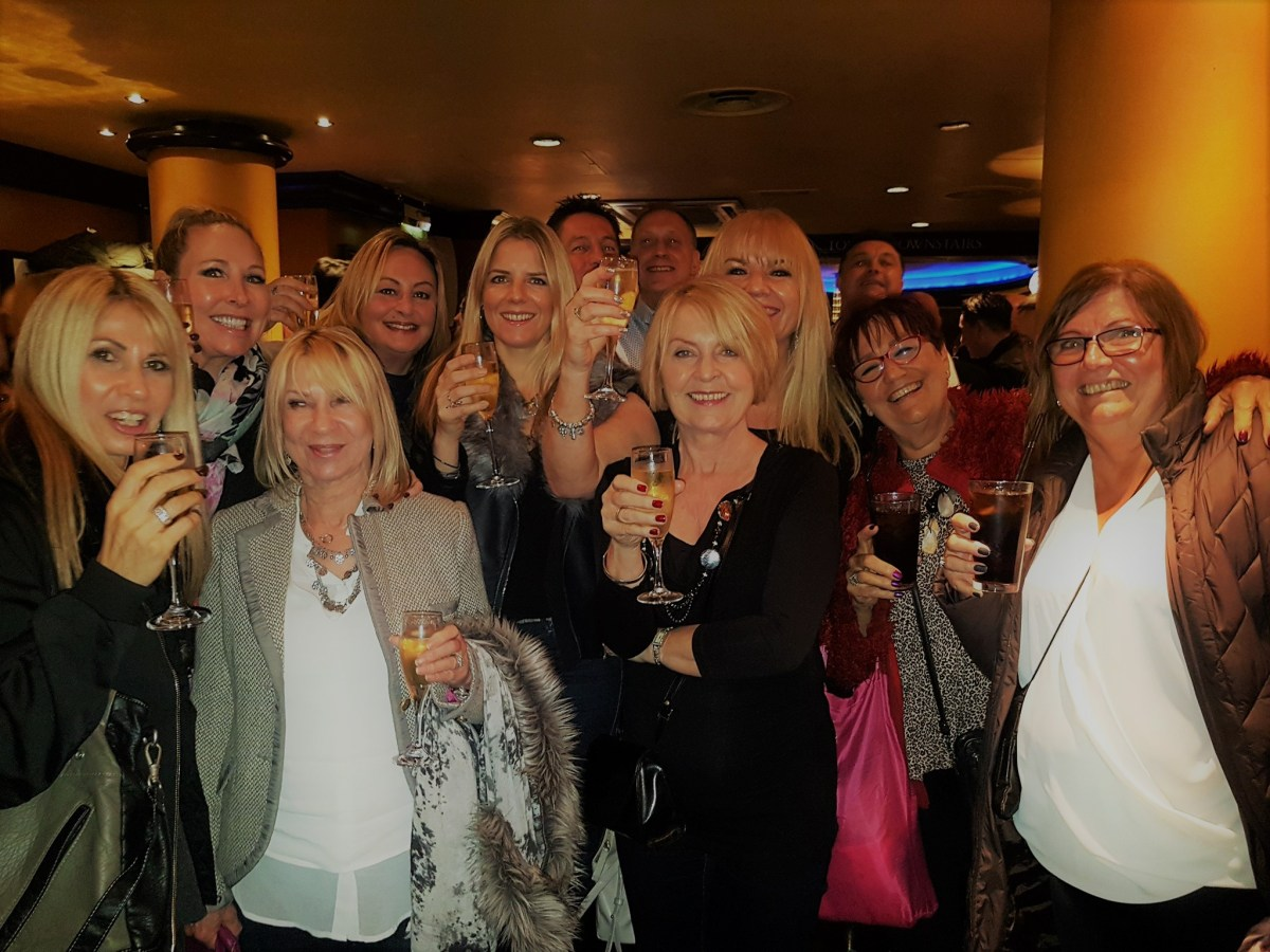 jolly girls outing xmas 2016