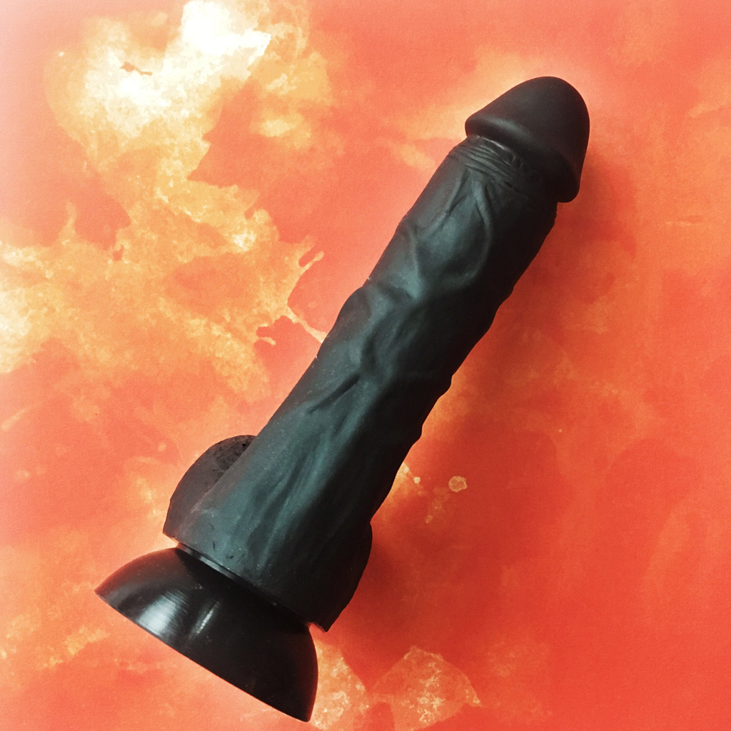 Top view of cloud9 dildo