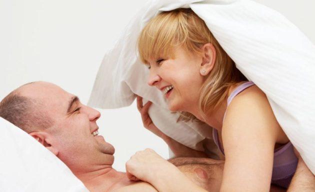 средний возраст счастливый брак в постели