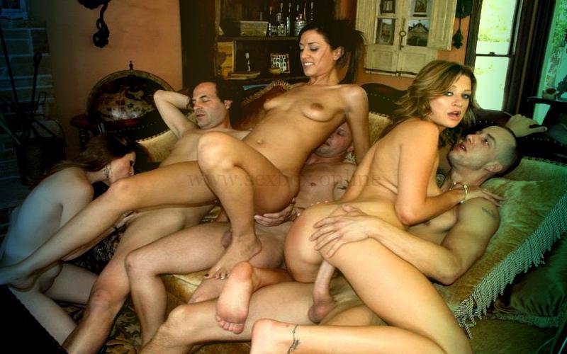 Фото: групповой секс муж жена
