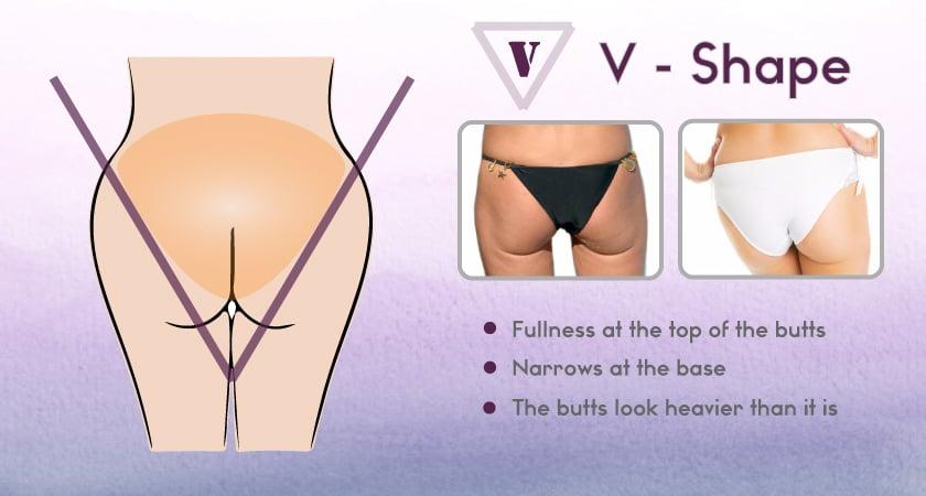 V-Shape booty