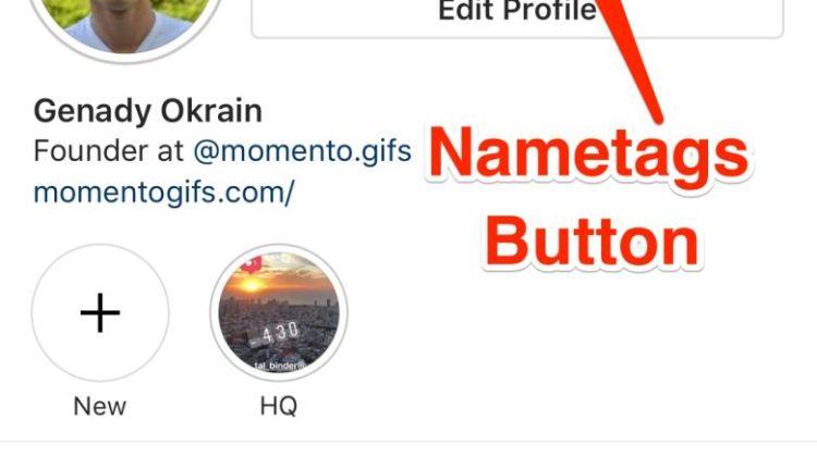 Και εγένετο το Nametags από το Instagram -Μια πρώτη ματιά στην εφαρμογή
