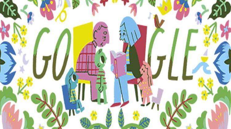 Η Google τιμά την «Ημέρα του Παππού και της Γιαγιάς»