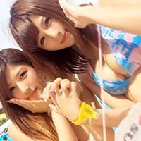 日本練馬區搜尋出來極上巨乳素人2人組 一說要拍av馬上答應
