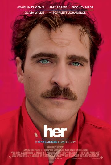 The poster for Her