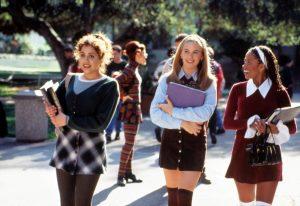 The three girls at school