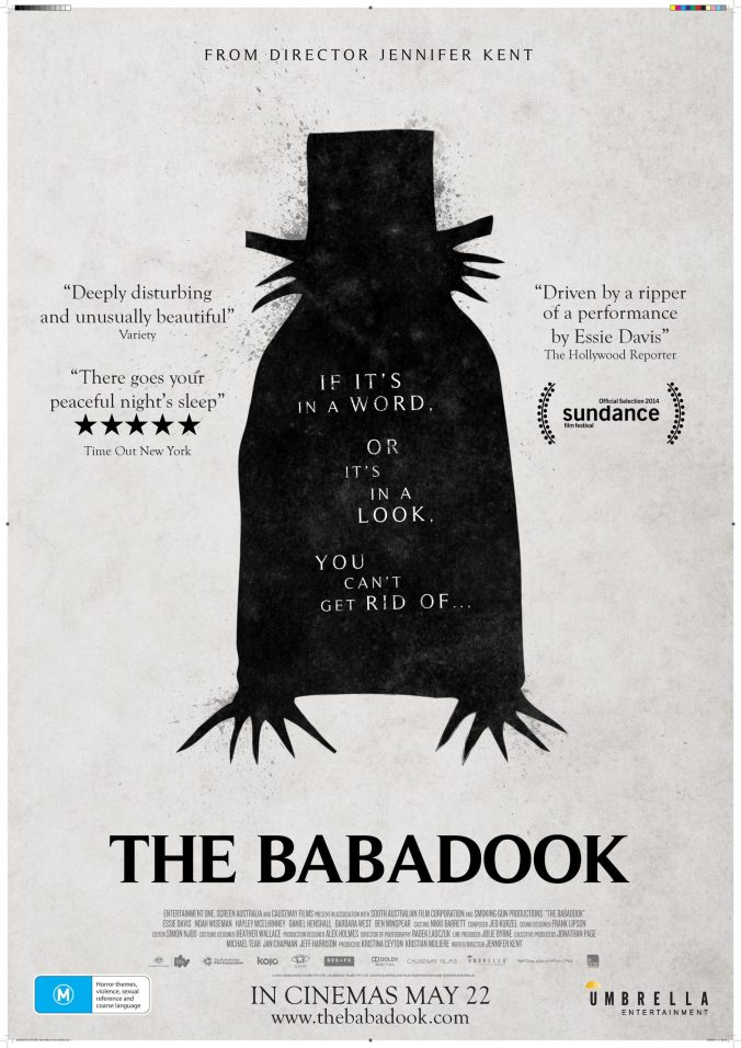 The poster for The Babadook