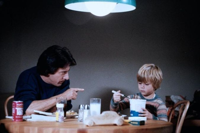 Ted looking angrily at Billy, from Kramer vs Kramer