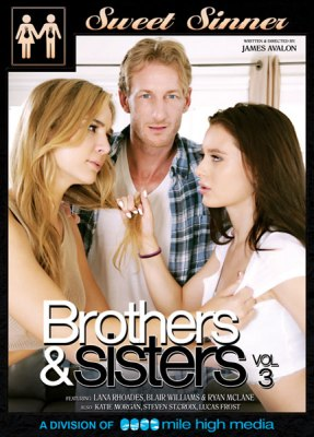 Brothers and Sisters 3, Porn DVD, Sweet Sinner, James Avalon, Lana Rhoades, Blair Williams, Ryan McLane, Katie Morgan, Steven St. Croix, Lucas Frost, All Sex, Family Roleplay