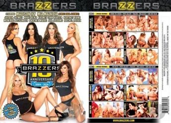 10TH Brazzers Anniversary - Porn DVD