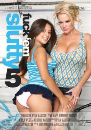 Porn Fidelity's Fuck 'Em Slutty # 5 DVD Porn Fidelity 2 Disc Set