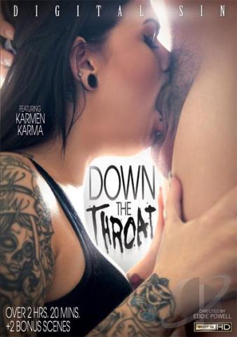 Down The Throat XXX DVD