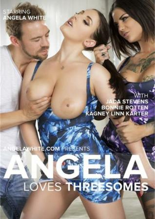 Angela Loves Threesomes, Full Free, HD XXX DVD, AGW Entertainment, Angela White, Jada Stevens, Bonnie Rotten, Kagney Linn Karter, Prince Yahshua, Erik Everhard, Flash Brown, James Deen, Danny Mountain, All Sex, Anal, Double Penetration, Star showcase, Threesomes