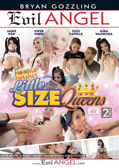 Hookup Hotshot Little Size Queens Porn DVD by Evil Angel