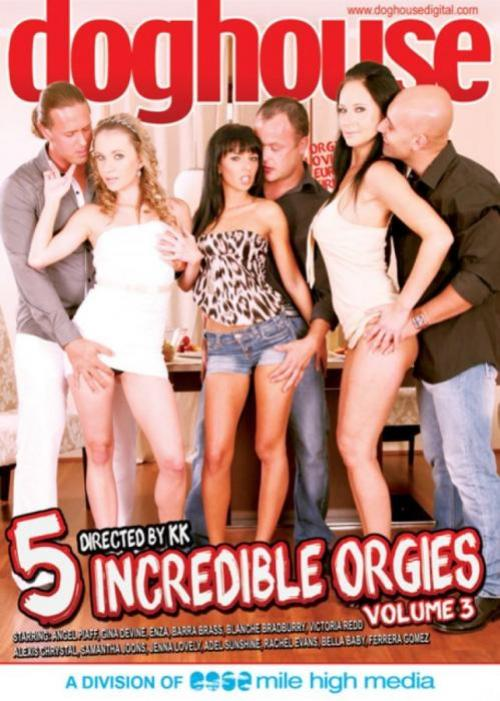 5 Incredible Orgies 3, 2016 SexoFilm, Dog House Digital, Bella Baby, Adel Sunshine, Samantha Johnson, Alexis Crystal, Jenna Lovely, Ferrera Gomez, Victoria Red, Rachel Evans, Angel Piaff, Barra Brass, Blanche Bradburry, Gina Devine, Thomas Crown, All Sex, European, Foreign, Orgy, K.K, 5-incredible-orgies-vol-3-2016-sexofilm