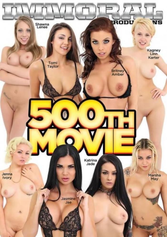 Immoral Productions, Kagney Linn Karter, Shawna Lenee, Katrina Jade, Jasmine Jae, Juan Hernandez, Britney Amber, Jenna Ivory, Marsha May, Tomi Taylor, Mark Zane, All Sex, Compilation, Gonzo, 500th Movie, Cum celebrate, truly amazing, 500th movie (2016) - hottest sexofilm