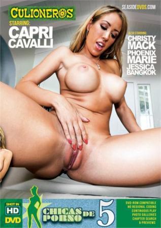 Chicas De Porno 5, Porn DVD, Culioneros, Capri Cavalli, Christy Mack, Phoenix Marie, Jessica Bangkok, Big Boobs, Big Butt, Gonzo, Latin