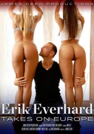 Erik Everhard Takes On Europe, 2017 Porn DVD, James Deen Productions, Anita B, Cherry Kiss, Christen Courtney, Haley Hill, Erik Everhard, All Sex, European, Big Cock, Ass to Mouth, Anal Sex, Anal Creampie