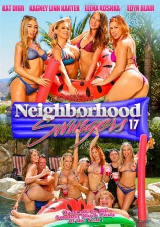Neighborhood Swingers 17, Porn DVD, Devil's Film, Kat Dior, Kagney Linn Karter, Elena Koshka, Edyn Blair, Swingers, Orgy