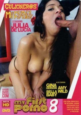 Culioneros, Mi Primer Porno, Julia De Lucia, Gina Gerson, Amy Wild, Bella Baby, Adult DVD, Amateur, Gonzo, Latin