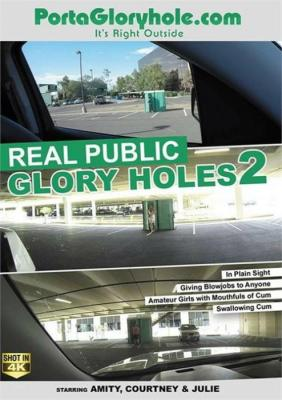 Real Public Glory Holes 2, 2017 Porn DVD, Porta Gloryhole, Amity, Courtney, Julie, Amateur, Blowbang, Blowjobs, Cumshots, Glory Hole, Gonzo, Public Sex, Swallowing