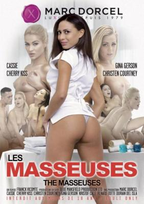 The masseuses, 2017 Porn Movie, Marc Dorcel, Franck Vicomte, Cassie, Cherry Kiss, Gina Gerson, Christen Courtney, Adult DVD, 18+ Teens, French, Threesomes, Lesbians, Anal, Oiled, Double Penetration, Small Tits, Tattoos Star, Pierced Clit, Blonde, Brunette