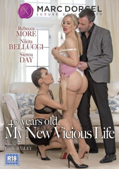 40 Years Old, My New Vicious Life, 2017 Porn Movie, Marc Dorcel, Rebecca More, Nikita Bellucci, Sienna Day, Tony De Sergio, Pascal White, Ben Kelly, Max Deeds, Adrian Dimas, Sam Bourne, Luke Hardy, Adult DVD, Affairs & Love Triangles, Feature, Hotwife, Mature, Pantyhose & Stocking, Threesomes