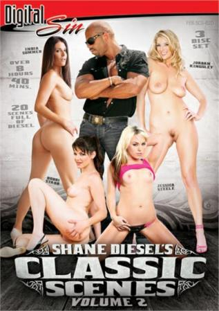 Shane Diesel's Classic Scenes Vol. 2 XXX DVD from Digital Sin