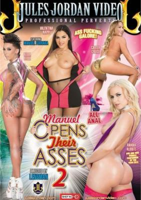 Manuel Opens Their Asses 2 XXX DVD from Jules Jordan Video