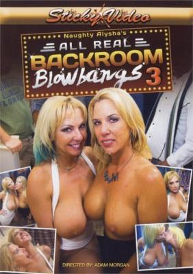 Naughty Alysha's All Real Back Room Blowbangs 3 XXX DVD