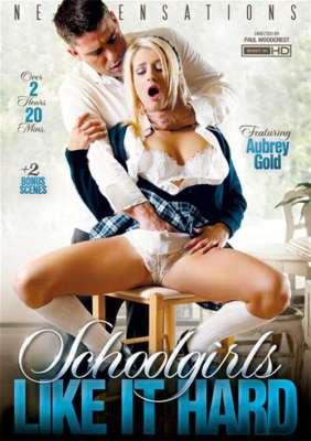 Schoolgirls Like It Hard Porn DVD from New Sensations