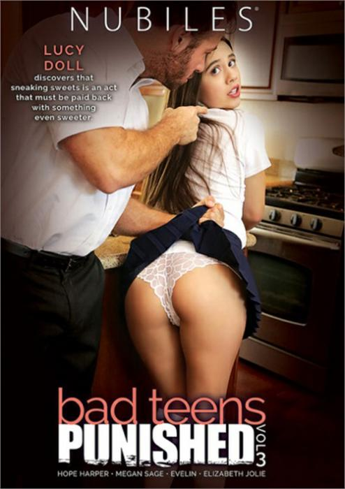 Bad Teens Punished 3 Porn DVD from Nubiles