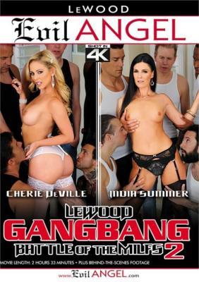LeWood Gangbang Battle Of The MILFs 2 XXX DVD