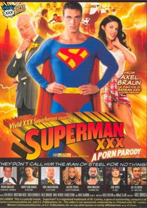 Superman XXX A Porn Parody on DVD from Vivid.