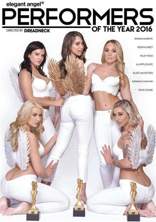 Performers Of The Year 2016 XXX DVD on demand from Elegant Angel