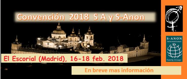 Convención 2018 SA y S-Anon