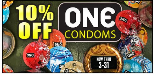 ONE Condoms Sale