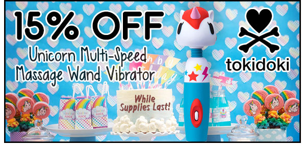 Tokidoki Wand Vibrator on Sale at SheVibe