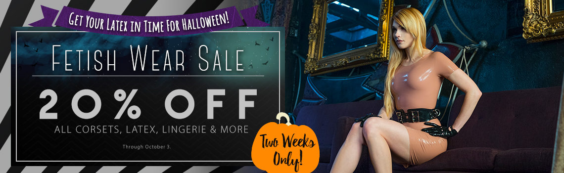 Stockroom Latex and Leather Fetish Wear Sale