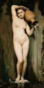 The Source by Jean Auguste Dominique Ingres