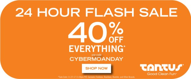 Tantus Cyber Monday 40% off store wide