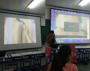 Professor exibe pornozão sem querer para alunos