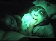 Vídeo porno de terror assustador