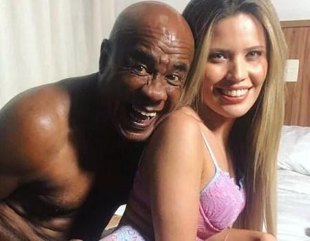 Yasmin Mineira fazendo sexo anal com o Kid Bengala