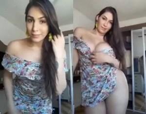 Gabriele gostosa peituda em um video amador