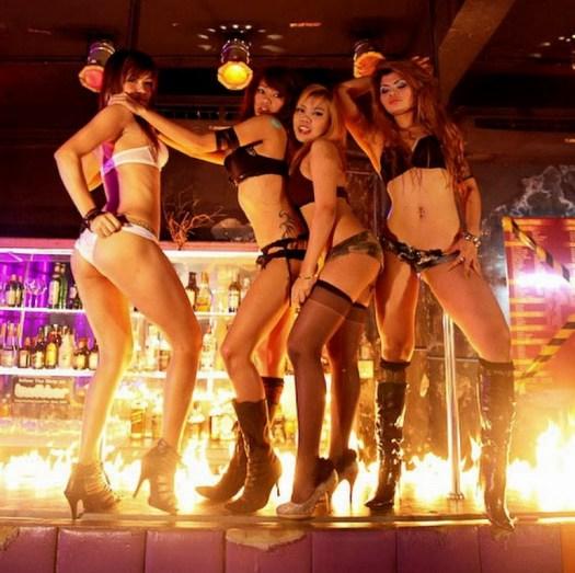 Relato ladyboys de Tailandia