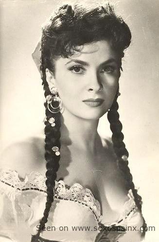 La más bella italiana Gina Lollobrigida.