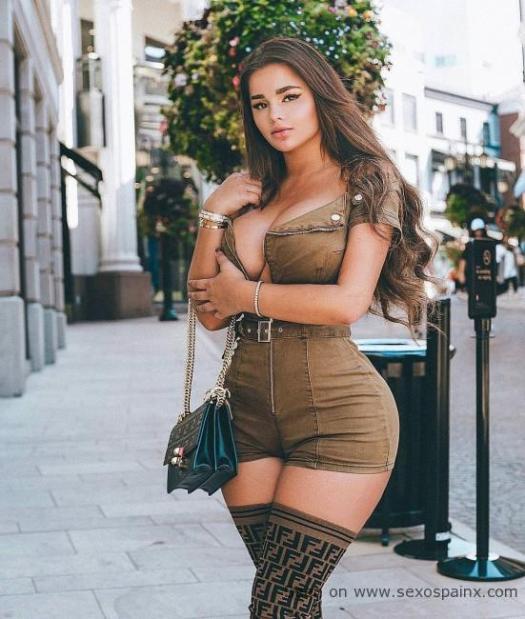 Glamour y pasión es lo que desprende Anastasiya Kvitko.